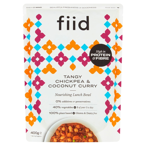 Fiid Tangy Coconut & Chickpea Curry