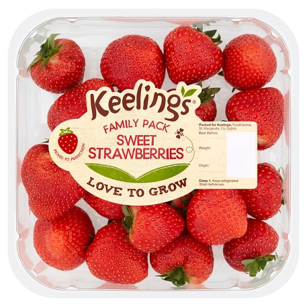 Keelings Family Pack Strawberries (400 Grams)