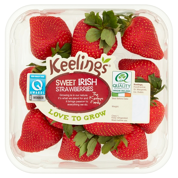 Keelings Irish Strawberries Family Pack