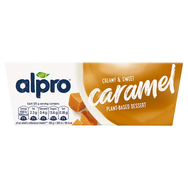 Alpro Desserts Caramel 4 Pack