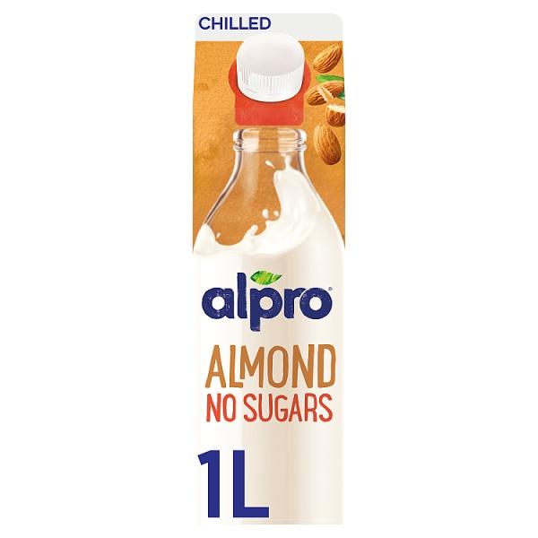 Alpro Almond Unsweetened Drink