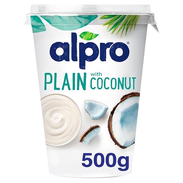 Alpro plain coconut for Alpro coconut cuisine