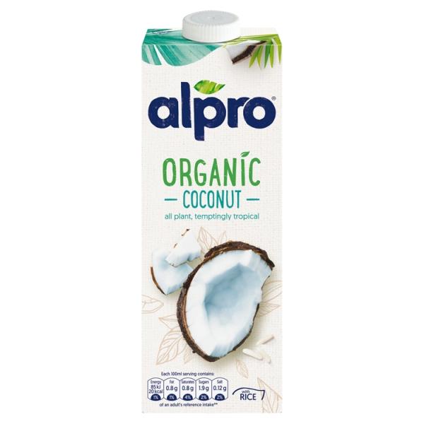 Alpro Dairy Free Organic Coconut Milk