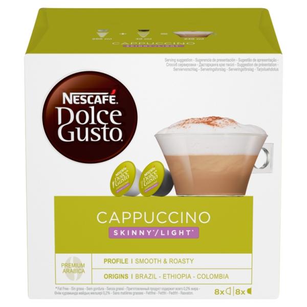Nescafe Dolco Gusto Skinny Cappuccino Coffee 16 Pods