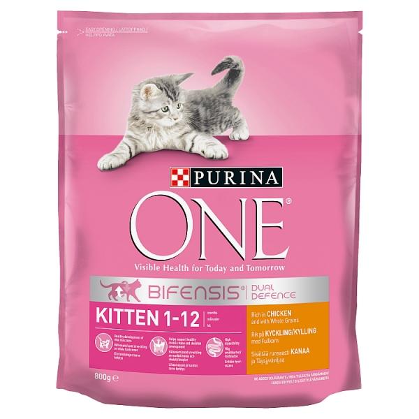 Purina One Chicken & Rice Kitten Food