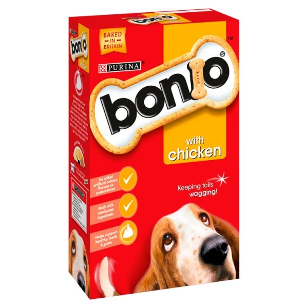 Bonio Dog Biscuits with Chicken