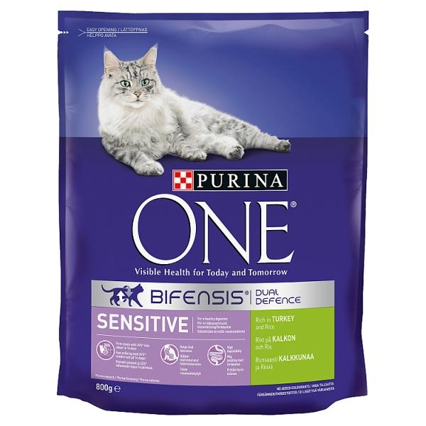 Purina One Turkey & Rice Sensitive Cat Food