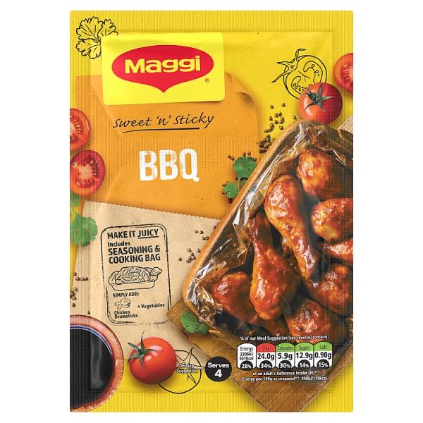 Maggi So Juicy BBQ Chicken