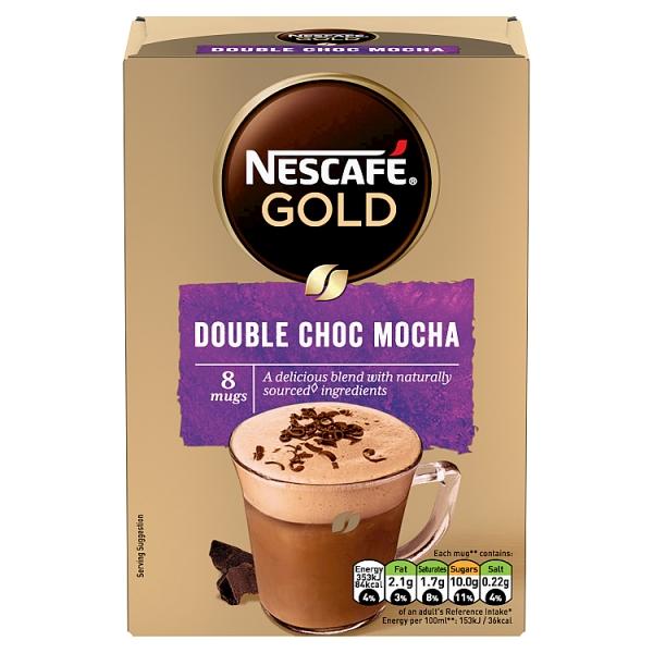 Nescafé Gold Instant Double Choc Mocha 8 Pack