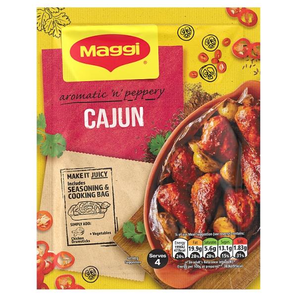 Maggi So Juicy Cajun Chicken