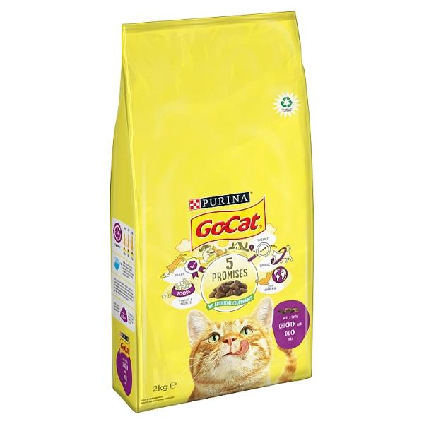 Go-Cat Chicken & Duck Dry Cat Food