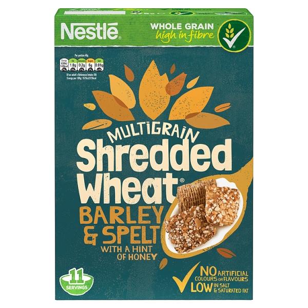 Shredded Wheat Barley Spelt