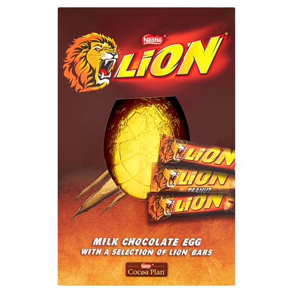Lion Collection Giant Easter Egg (341 Grams)
