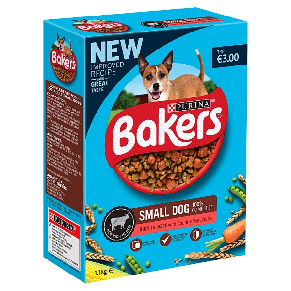 Bakers Beef & Vegetable Small Dog Food