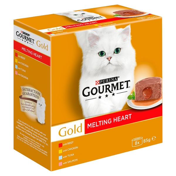 Gourmet Gold Melting Heart Variety 8 Pack