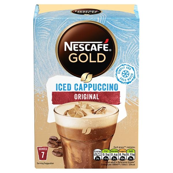 Nescafe Gold Iced Cappuccino Sachets