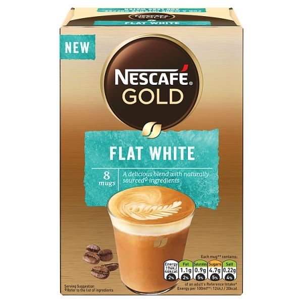 Nescafe Gold Flat White Sachets