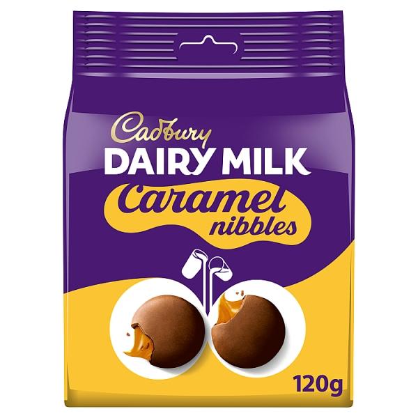 Cadbury Dairy Milk Caramel Nibbles Pouch