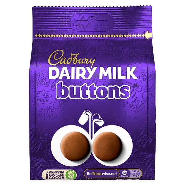 Cadbury Dairy Milk Giant Buttons Chocolate Pouch