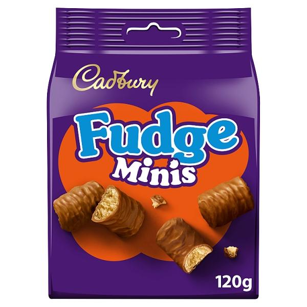 Cadbury Fudge Minis Chocolate Pouch