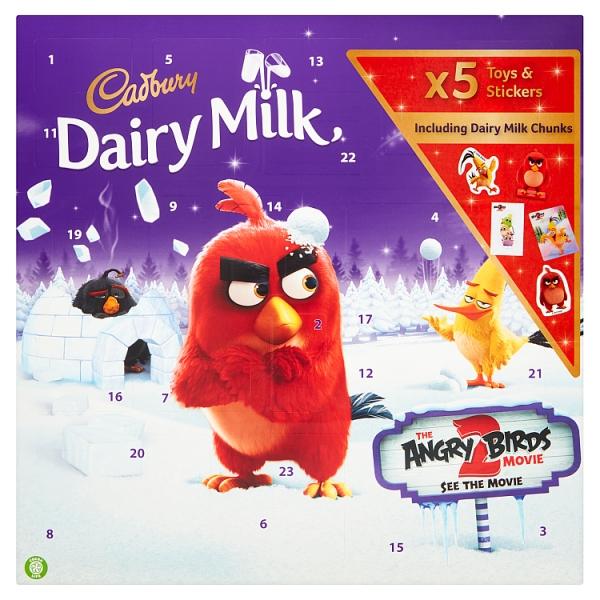 Cadbury Angry Birds Adent Calendar