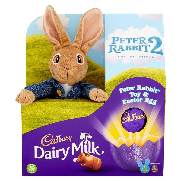 Cadbury Peter Rabbit Plush Egg 72 Grams