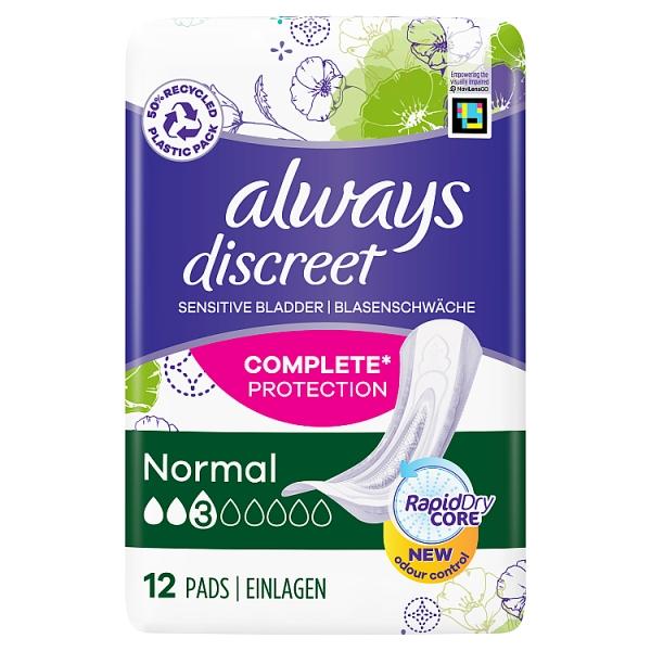 Always Discreet Normal Pads SP