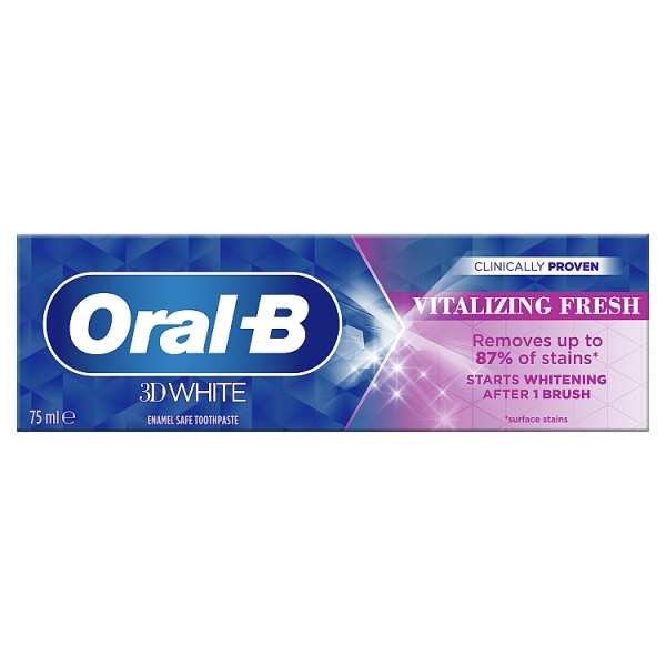 Oral-B 3D White Vitalizing Mint Whitening Toothpaste