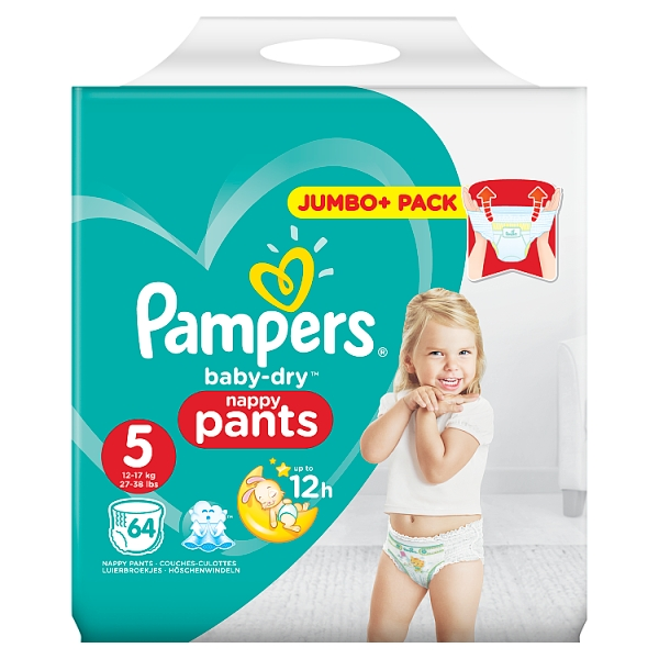 Pampers Baby Dry Pants Size 5 Nappies