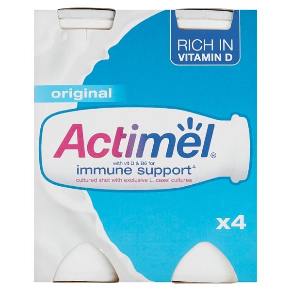 Danone Actimel Original Yogurt Drink 4 Pack