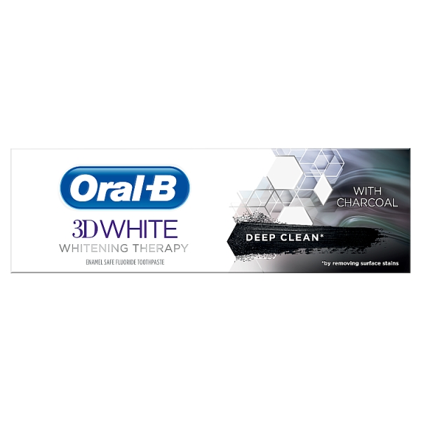 Oral-B 3DWhite Whitening Therapy Deep Clean Toothpaste