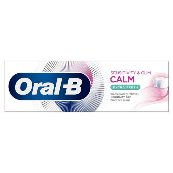 Oral B Calm Sensitivity & Gum Extra Fresh