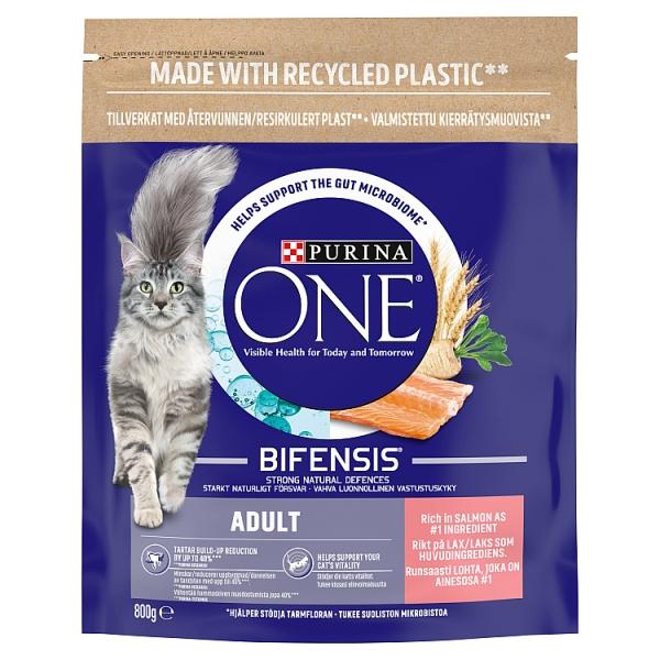Purina One Salmon & Wholegrain Adult Cat Food