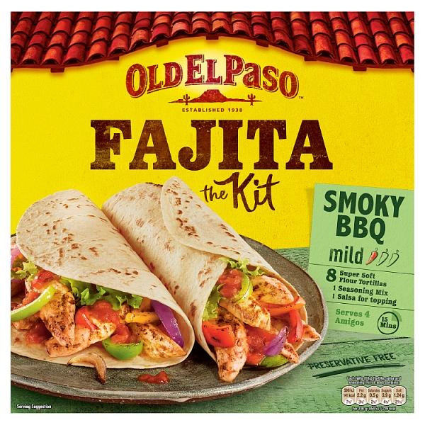 Old El Paso Mild Smoky BBQ Fajita Kit