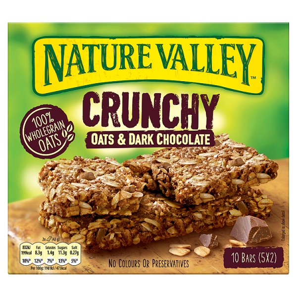 Nature Valley Oats & Chocolate 5 Pack