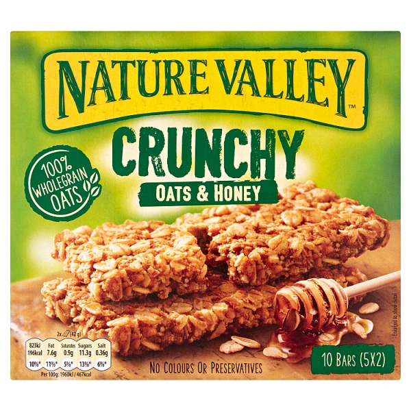 Nature Valley Oats & Honey 5 Pack