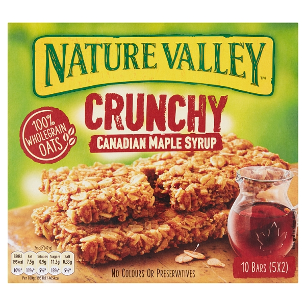 56c8534b58f Nature Valley Maple Syrup 5 Pack (210 Grams)