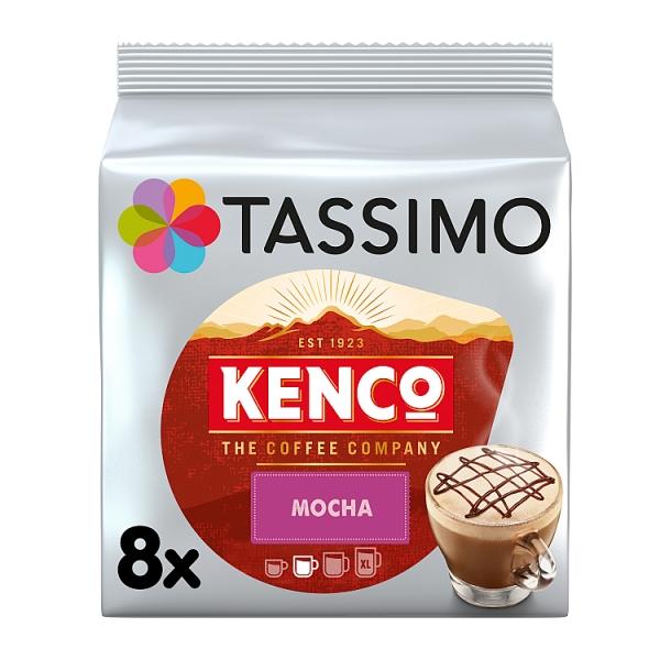 Tassimo Kenco Mocha Pods 8 Pack 208 Grams