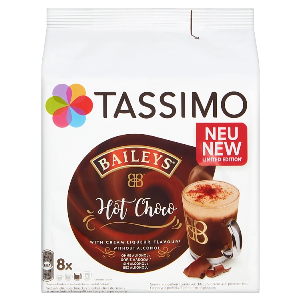 Tassimo Baileys Hot Chocolate 220 Grams