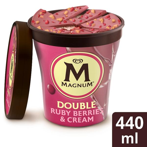 Magnum Double Ruby Berries & Cream