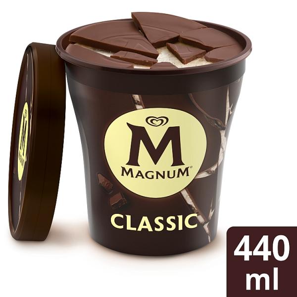Magnum Classic Vanilla Ice Cream with Chocolate Pieces