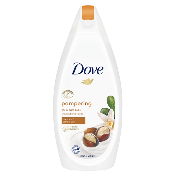 Dove Pampering Shea Butter and Vanilla Body Wash
