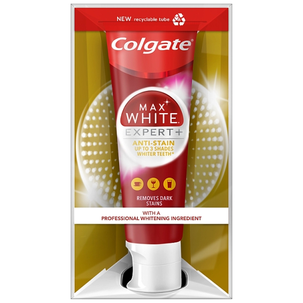 Colgate Max White Expert Anti-Stain Toothpaste