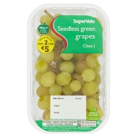 SuperValu White Grape Seedless Punnet