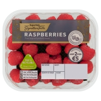 SuperValu Raspberry Punnet