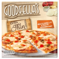 Goodfellas Extra Thin Mozzarella & Pesto Pizza