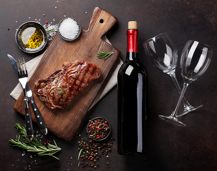 Delicious Wines for Magnificent Meat